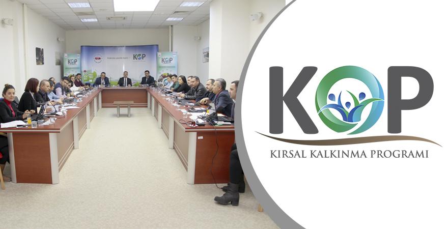 Hayvancılık Altyapısının Rehabilitasyonu ve Modernizasyonu İstişare Toplantısı yapıldı.