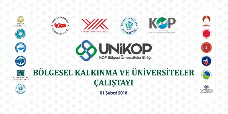 Kalkınma Bakanımız Lütfi Elvan, UNİKOP Çalıştayına Katılacak