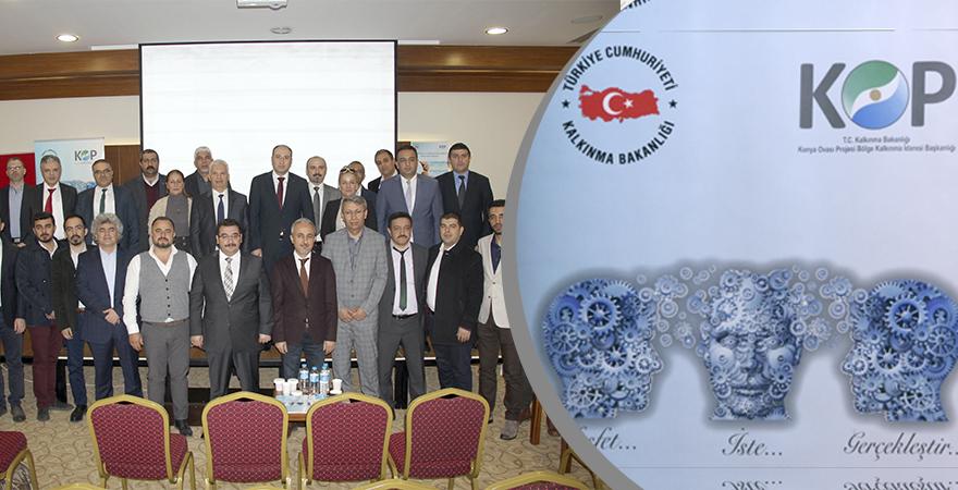 Girişimcilik ve Yenilikçilik İhtiyaç Analizi Sonuç Toplantısı Nevşehir'de yapıldı.
