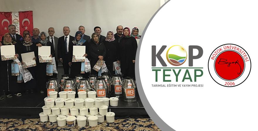 KOP-Bozok Üniversitesi İşbirliğiyle Yozgat'ta Manda Yetiştiriciliği Yaygınlaşıyor