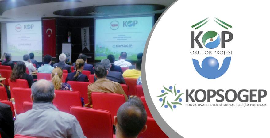 KOPOKUYOR ve KOPSOGEP Mali Destek Programları Tanıtıldı