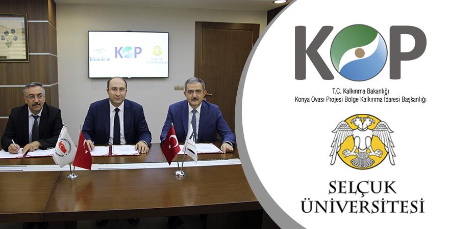 """KOP ve Selçuk Üniversitesi İşbirliğiyle """"KOP'ta Girişim"""" Başlıyor"""