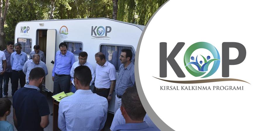 KOP Kırsal Kalkınma Programı ile Küçükbaş Hayvancılık Destekleniyor