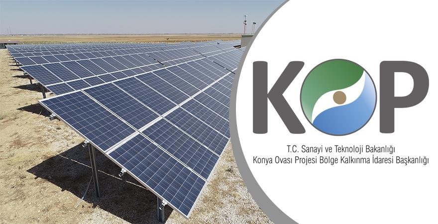 KOP İdaresi'nden Yenilenebilir Enerji Projelerine 11 Milyon TL Destek