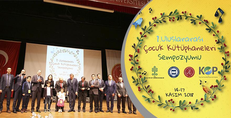 1. Uluslararası Çocuk Kütüphaneleri Sempozyumu Nevşehir'de Başladı