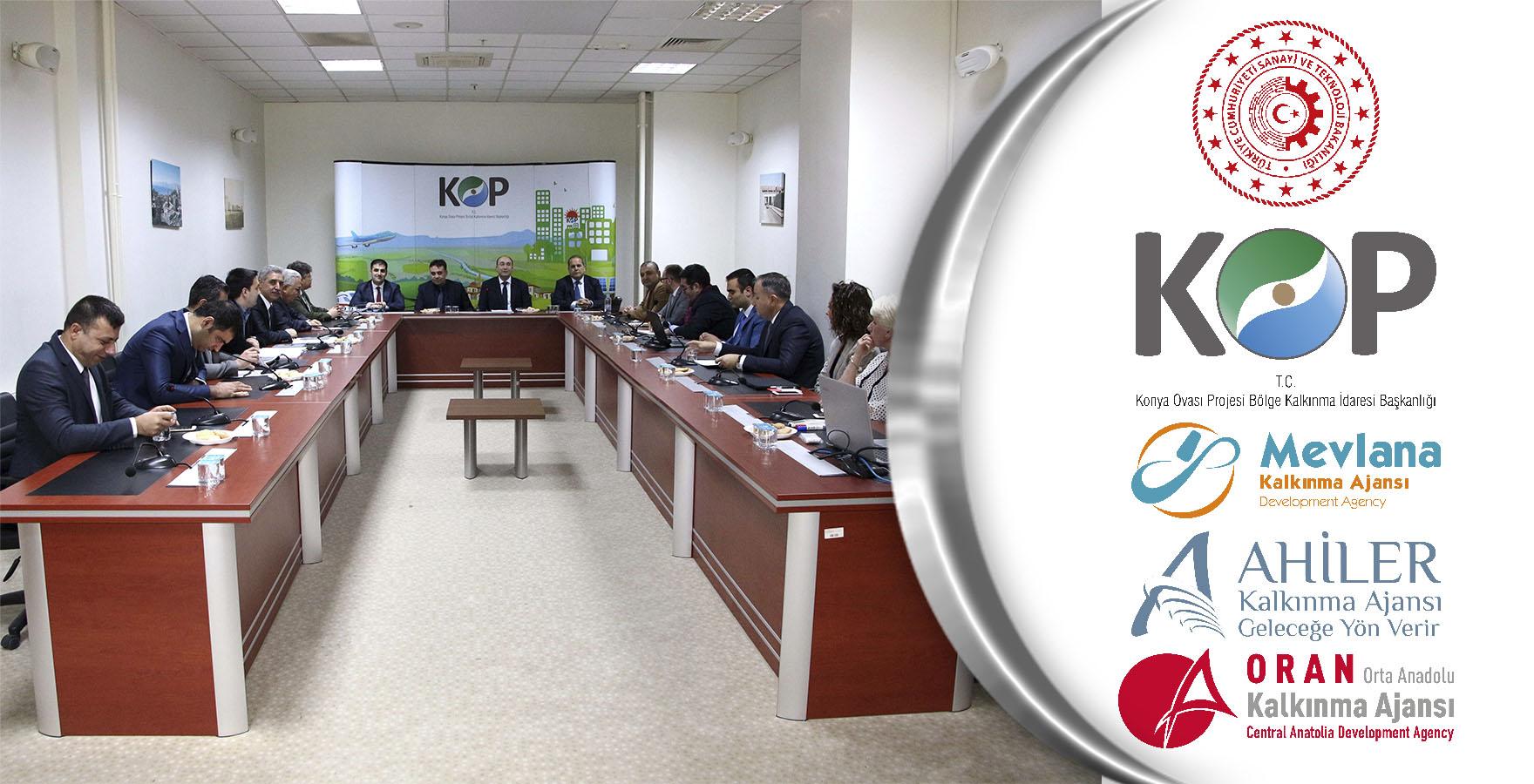 KOP ve Kalkınma Ajansları Koordinasyon ve İşbirliği Toplantısı
