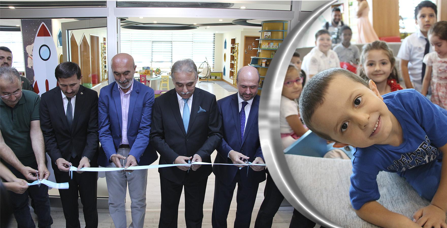 Çocuklar için, Çocuklara Özel Konya'nın İlk Çocuk Kütüphanesi Açıldı.
