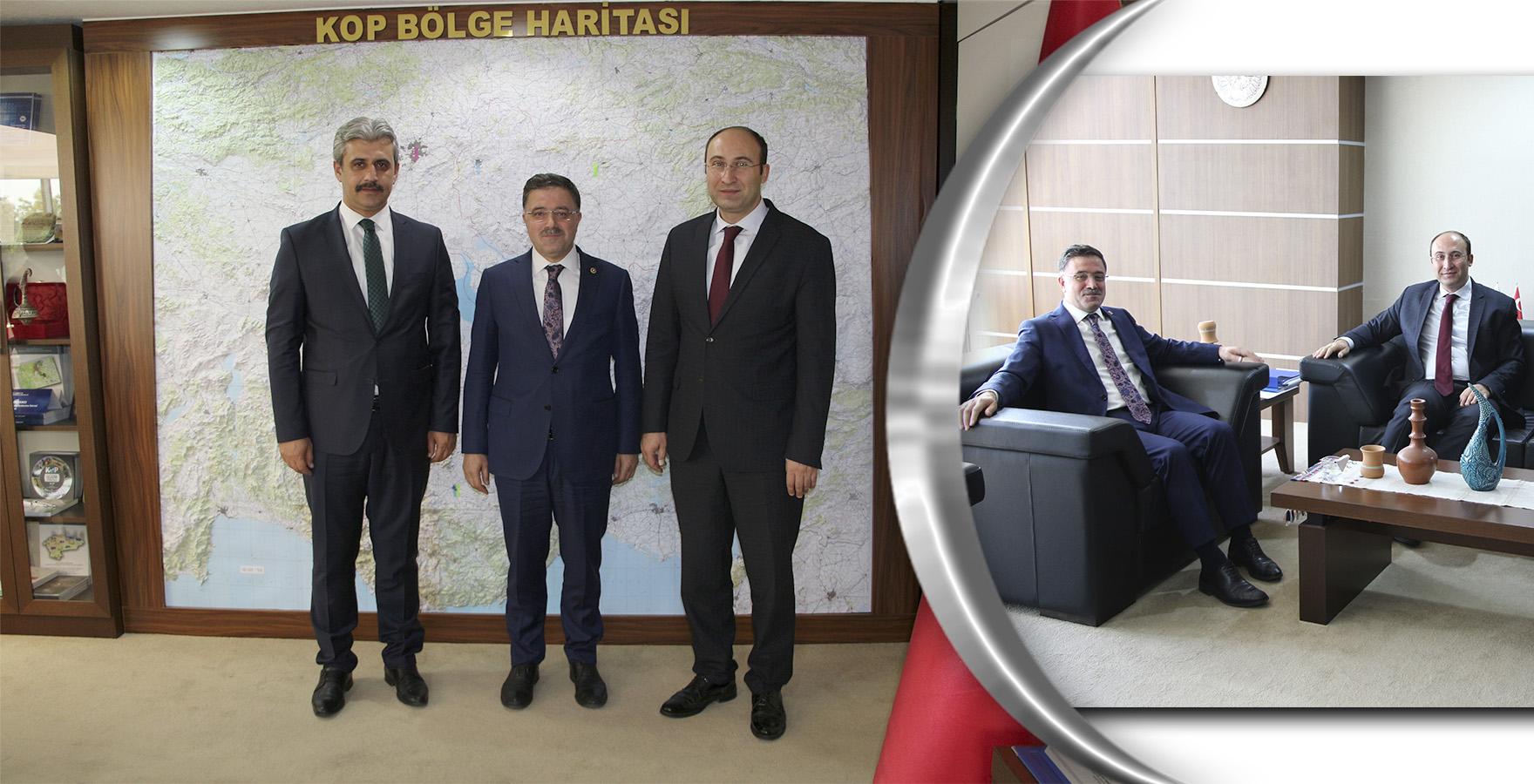 Yozgat Milletvekili Başer ve Belediye Başkanı Köse'den Ziyaret