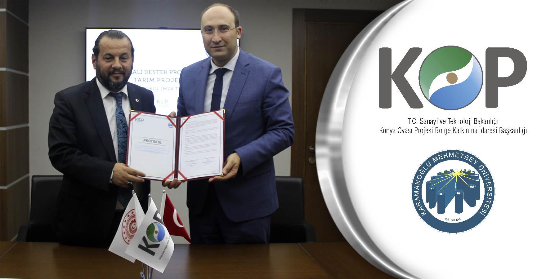 KOP-KMÜ İşbirliği ile Üreticilere Bilimsel Altyapı Desteği Sunulacak