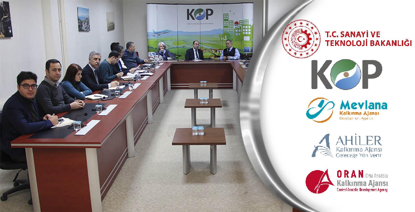 KOP İdaresi ve Bölge Kalkınma Ajansları İş birliği için toplandı