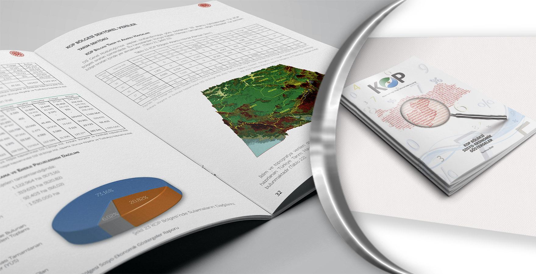 KOP Bölgesi Sosyo-Ekonomik Göstergeler Raporu Yayınlandı