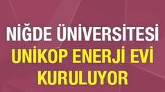 Niğde Üniversitesi UNİKOP Enerji Evi Projesi